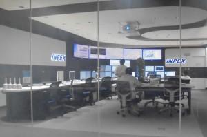 パイプラインの制御室