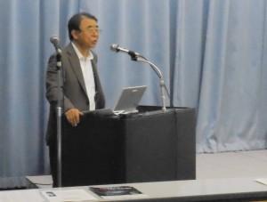 熱弁の加藤三郎先生